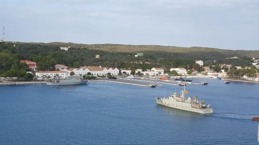 A puerto.