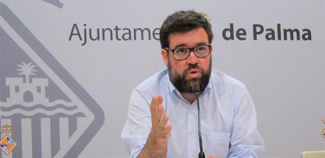 Antoni Noguera, alcalde de Palma.