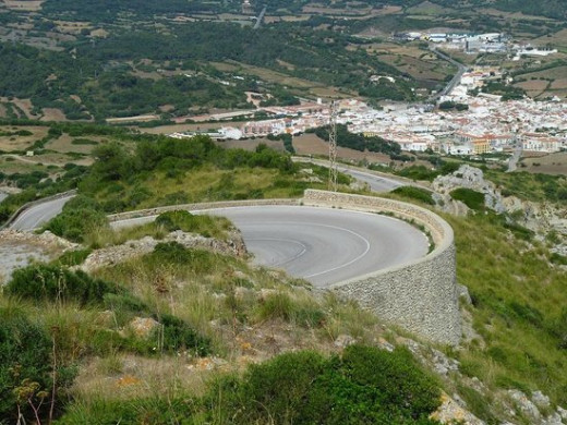 Carretera de Monte Toro.
