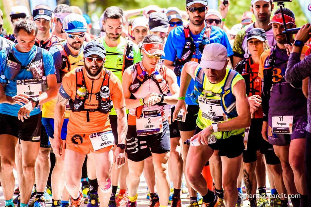 Atletas en una de las salidas (Fotos: Marta Bacardit)