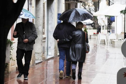 Hoy hay que tener el paraguas a mano en Menorca.