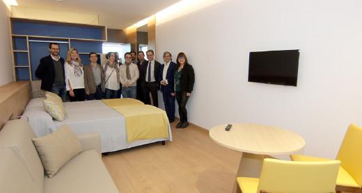 Son Espases estrena una residencia para los acompañantes de enfermos de Menorca y Pitiusas