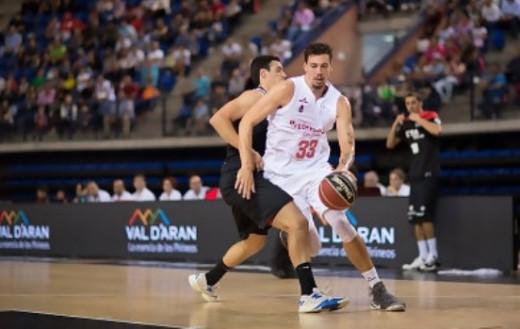 Alex Suárez a la Selección española de baloncesto