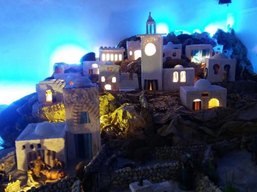 (Galería de fotos) Inaugurado el belén ONCE-Adagio en Santa Eulàlia de Maó