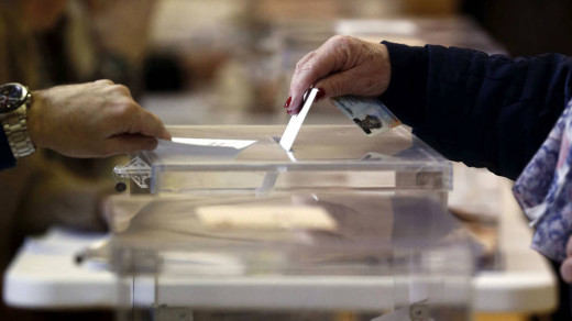 Imagen de una urna electoral.