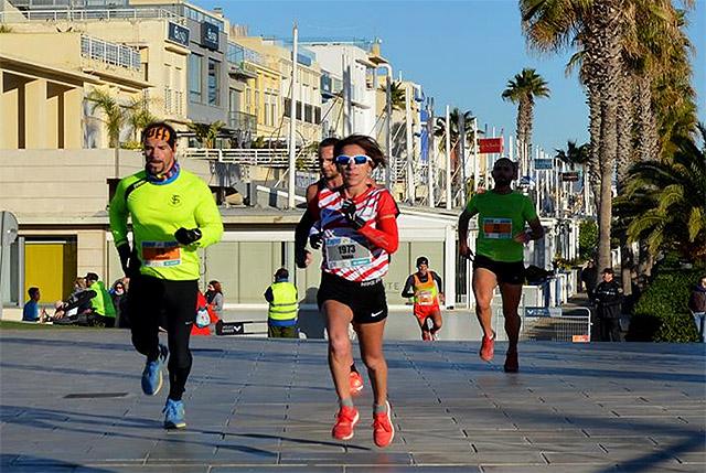 Pallicer, en un momento de la carrera (Fotos: Angel Vergara - deportesmenorca.com)