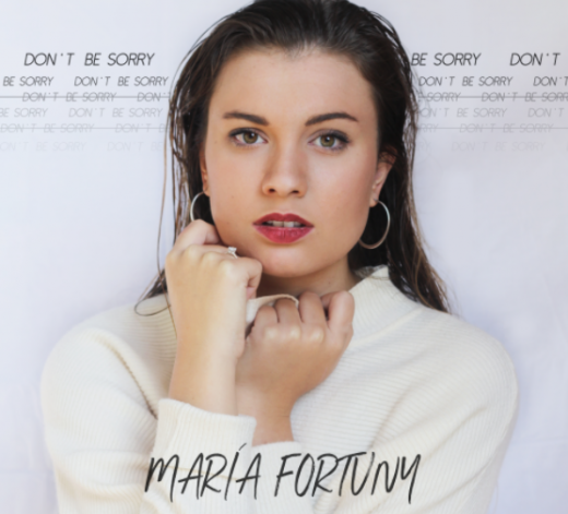 "Portada del single ""Don't be Sorry"""