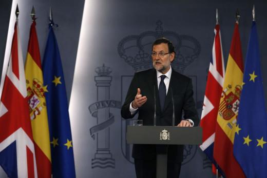 Mariano Rajoy, en rueda de prensa.