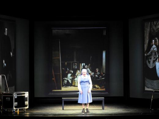 (Fotos) Carmen Machi 'pinta' en el Principal de Maó