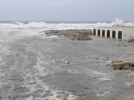 (Fotos) Las postales del temporal
