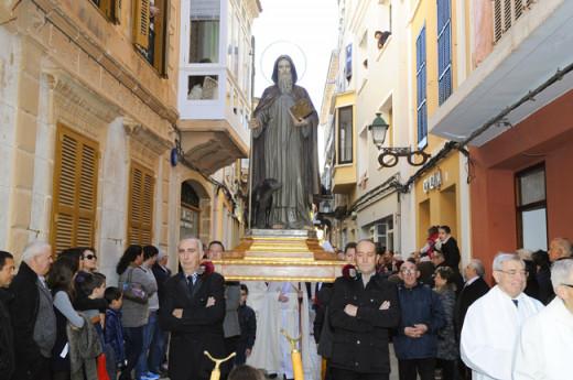 Sant Antoni tranquilo.