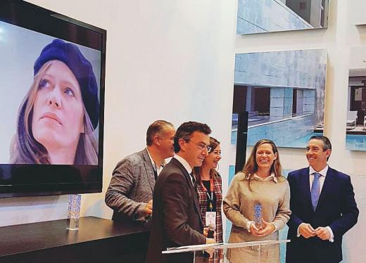 Momento de la entrega del premio (Foto: Jardí de ses Bruixes)