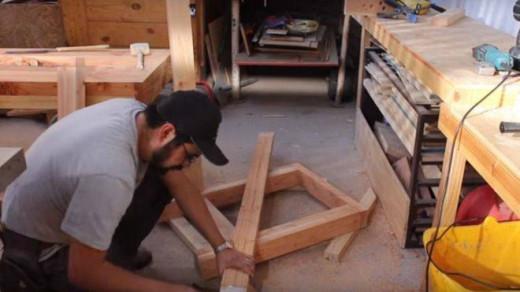 Un carpintero autónomo.