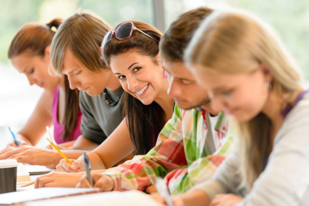 Alumnos de secundaria en una imagen promocional.
