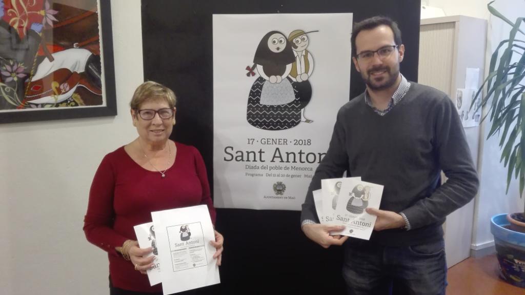 Sant Antoni en Maó.