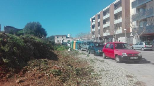 En la calle Borja Moll se construirán nuevas viviendas protegidas