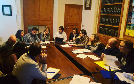 Imagen de la reunión de la Comisión de Turismo.