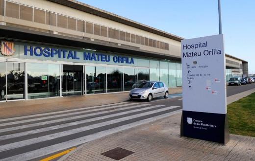 Hospital Mateu Orfila (Foto: Tolo Mercadal)