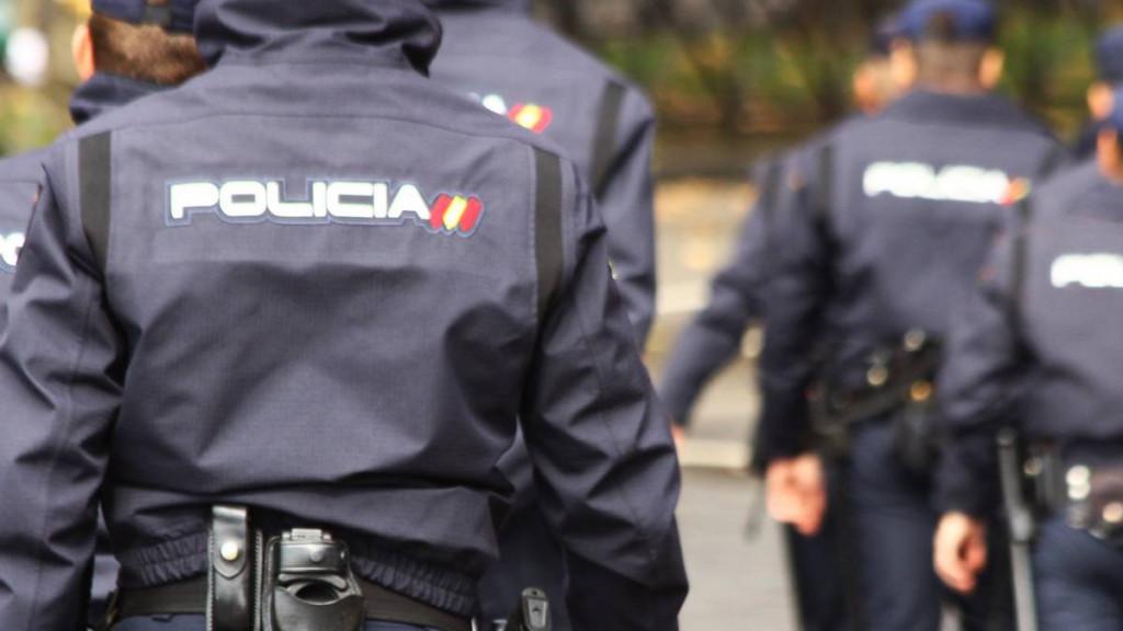Miembros de la Policía.