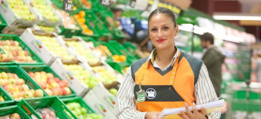 Trabajadora del Mercadona.