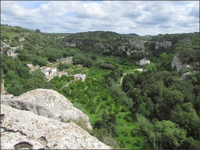 Imagen del Barranc d'Algendar (Foto: Tolo Mercadal)