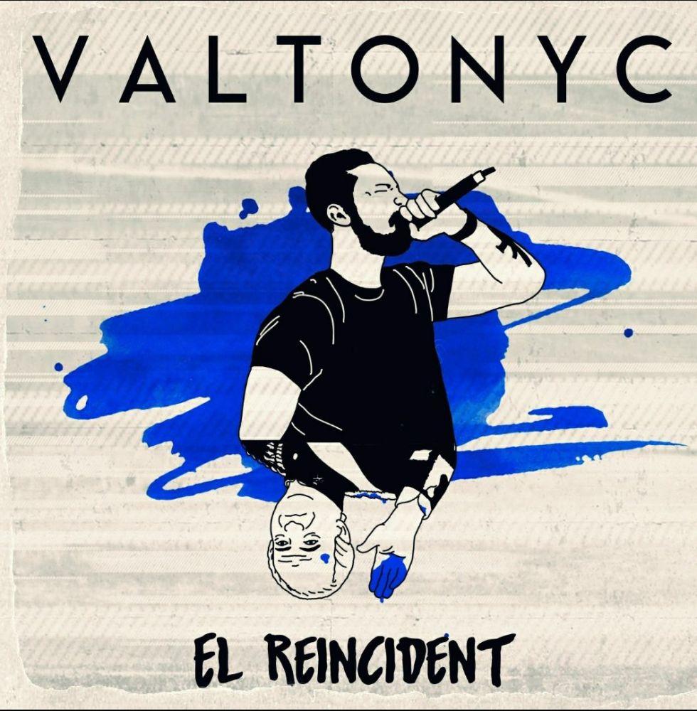 Imagen promocional del nuevo disco del rapero. Foto:@valtonyc