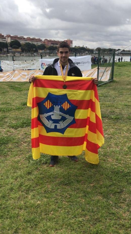 PauHierro, del Club Marítimo de Maó, sigue con su progresión.