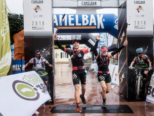 Ni la lluvia puede con los líderes en la etapa final de la Epic Trail Camí de Cavalls 360º