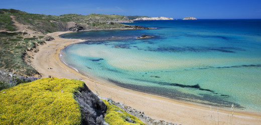 Imagen de la playa de Cavalleria (Foto: Tolo Mercadal)