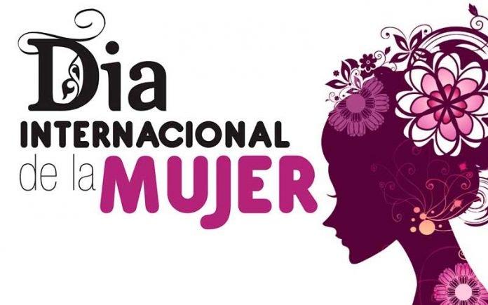 Un cartel del Día Internacional de la Mujer.