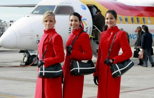 Personal de vuelo de Air Nostrum.