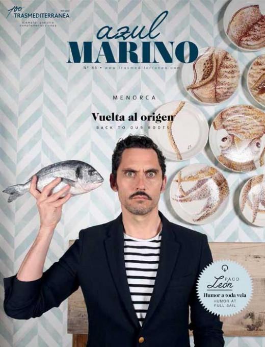 La revista destaca en portada a Paco León y a Menorca.