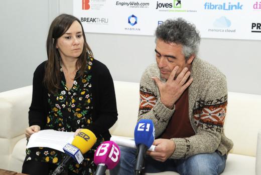 Justo Saura y Miriam Zabalegui han hecho publica la disolución de Joves Empresaris.