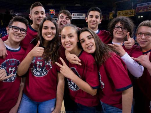 (Galería de fotos) El CB Ferreries disfruta en el Palau Blaugrana