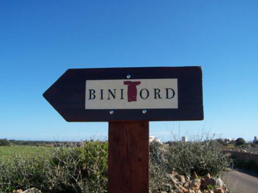 Bodega Binitord, en Ciutadella.