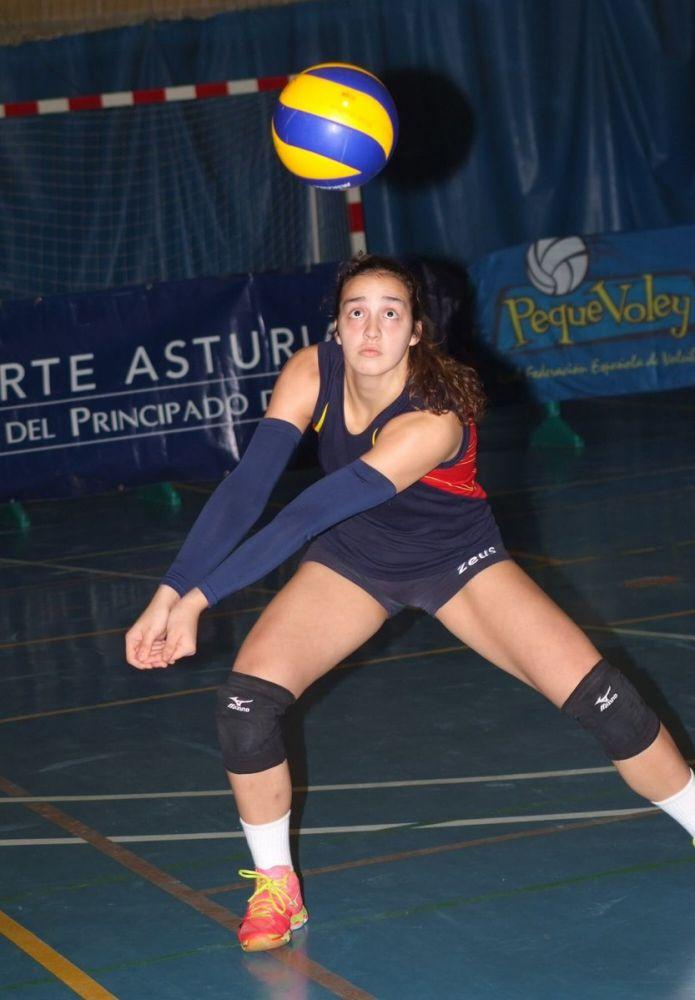 Imagen de la jugadora Aina Pons.