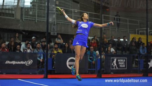 Espectacular remate de Gemma Triay (Foto: World Padel Tour)
