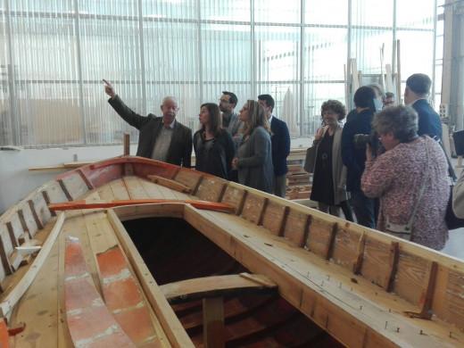 (Fotos) El Centre de la Mar acogerá una FP de mantenimiento de embarcaciones