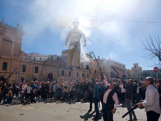 (Fotos) Ciutadella ajusticia a sus bujots