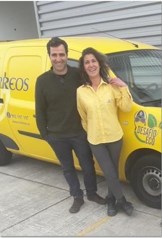 Marina Gomis y Juan Luis Sánchez.