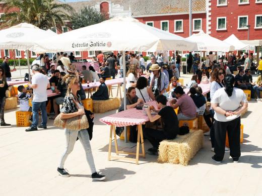 (Fotos) Fiesta, comida y diversión en Es Castell
