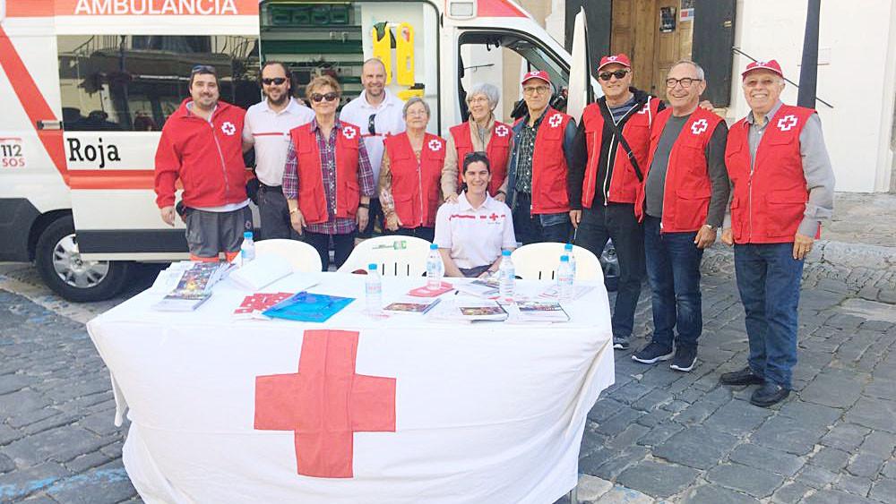 Imagen del encuentro en el centro de Maó (Fotos: Tolo Mercadal)
