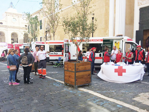 (Galería de fotos) Jornada de puertas abiertas de la Creu Roja en Maó