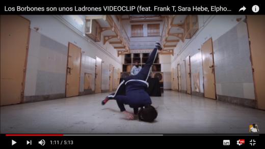 El videoclip de apoyo a Valtonyc se ha grabado en la Modelo de Barcelona.