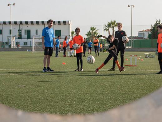 (Galería de fotos) La gran fiesta de la escuela de porteros de Menorca