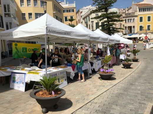 (Galería de fotos) La Menorca más solidaria se cita en el corazón de Maó