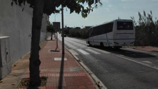 Imagen de la entrada a Es Castell.