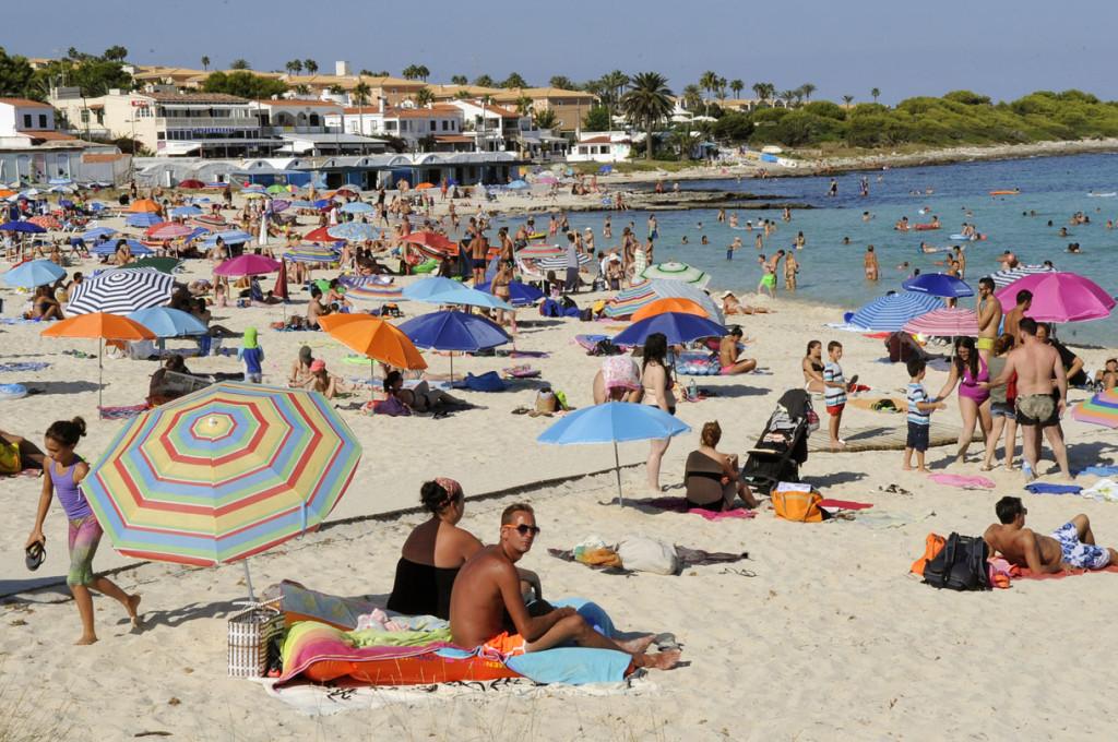 Imagen de la playa de Punta Prima.