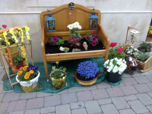 (Fotos) Ferreries se une a la fiesta floral
