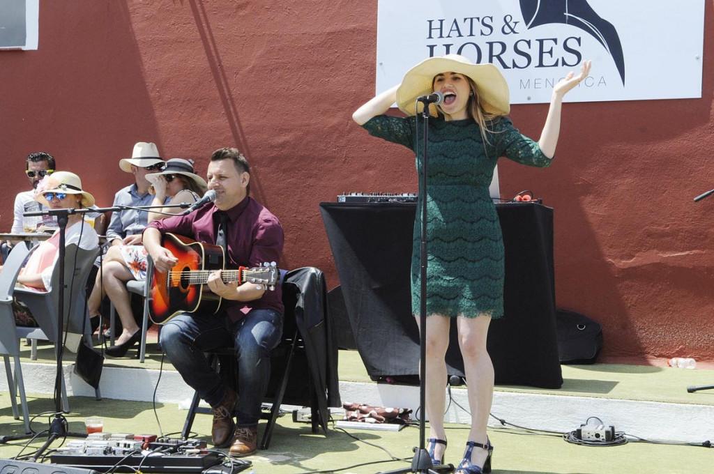 Hats & Horses.